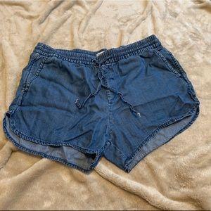 GAP TENCEL drawstring shorts SZ M